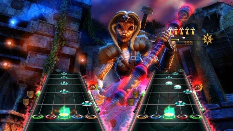 Guitar Hero: Warriors Of Rock (X360)   © Activision 2010    4/7