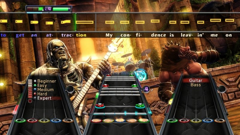 Guitar Hero: Warriors Of Rock (X360)   © Activision 2010    6/7