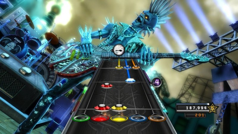 Guitar Hero: Warriors Of Rock (X360)   © Activision 2010    7/7