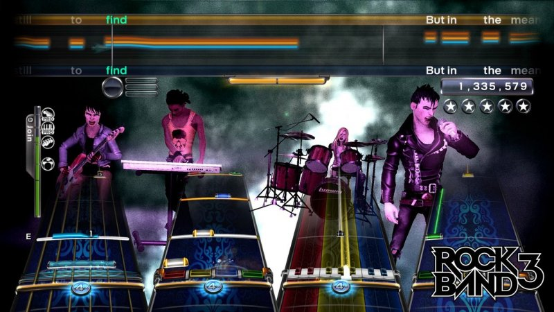 Rock Band 3 (PS3)   © EA 2010    4/6
