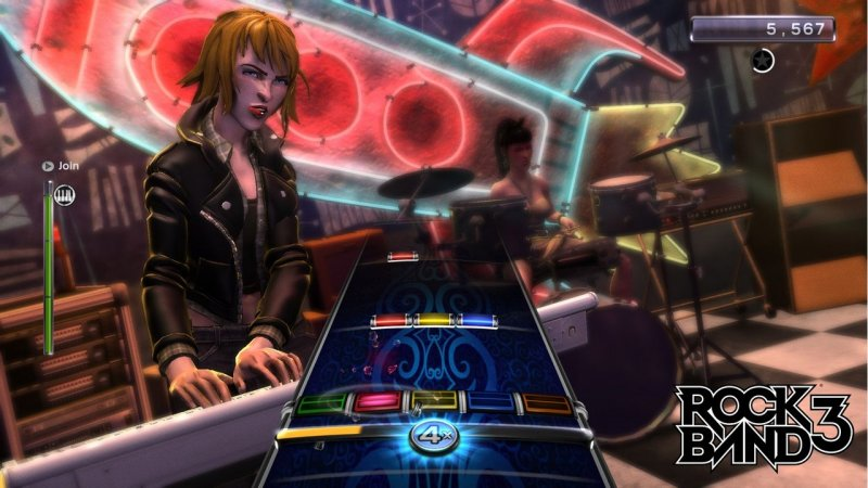 Rock Band 3 (PS3)   © EA 2010    5/6