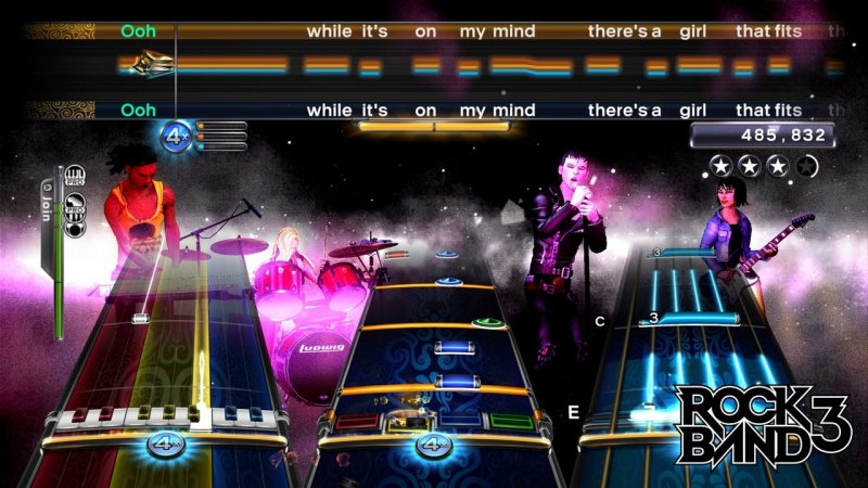 Rock Band 3 (PS3)   © EA 2010    6/6