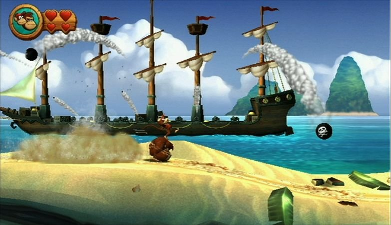 Donkey Kong Country Returns (WII)   © Nintendo 2010    4/6