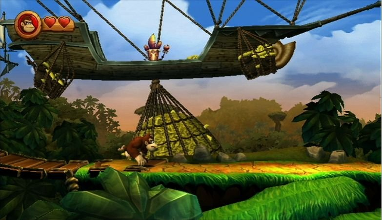 Donkey Kong Country Returns (WII)   © Nintendo 2010    6/6