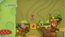 Kirby's Epic Yarn (WII)  © Nintendo 2010   1/9