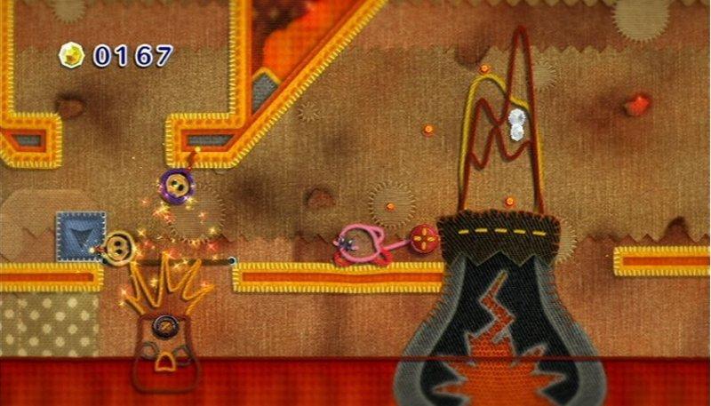 Kirby's Epic Yarn (WII)  © Nintendo 2010   5/9