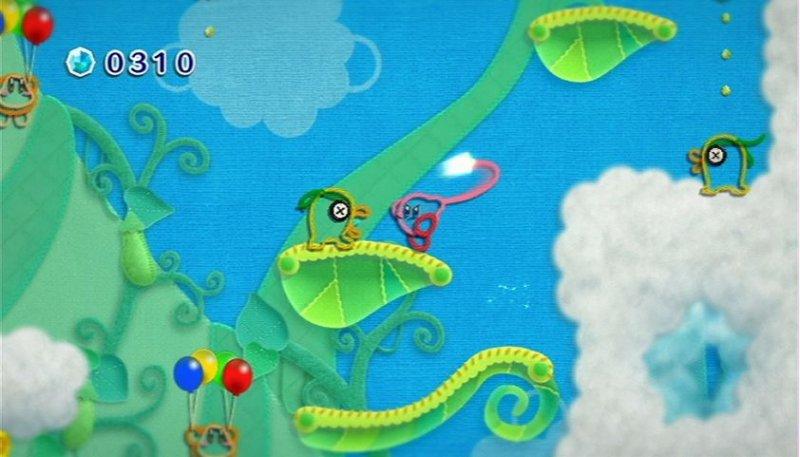 Kirby's Epic Yarn (WII)  © Nintendo 2010   8/9
