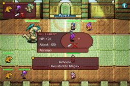 Crystal Defenders: Vanguard Storm (IP)  © Square Enix 2009   3/3