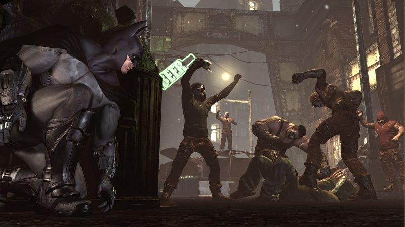 Batman: Arkham City (PS3)  © Warner Bros. 2011   4/10