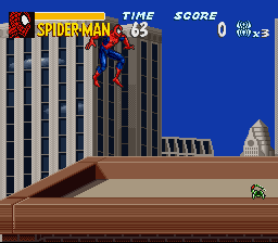 The Amazing Spider-Man: Lethal Foes (SNES)  © Epoch 1995   2/3