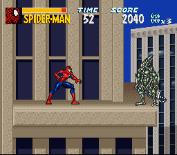 The Amazing Spider-Man: Lethal Foes (SNES)  © Epoch 1995   3/3