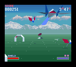 Starwing: Super Weekend   © Nintendo 1993   (SNES)    3/3