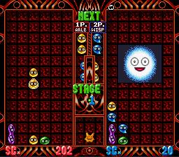 Super Puyo Puyo 2 (SNES)  © Compile 1995   3/3
