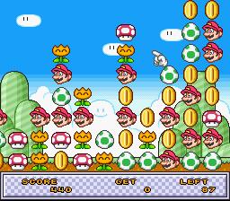 Undake 30: Same Game: Mario Version  © Nintendo 1995  (SNES)   2/3