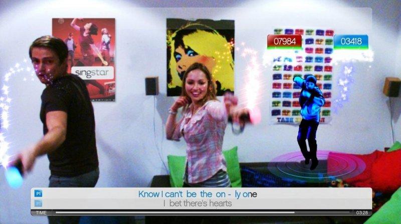 SingStar Dance (PS3)  © Sony 2010   4/14