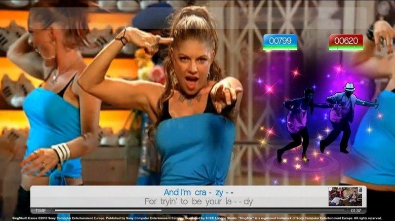 SingStar Dance (PS3)  © Sony 2010   7/14
