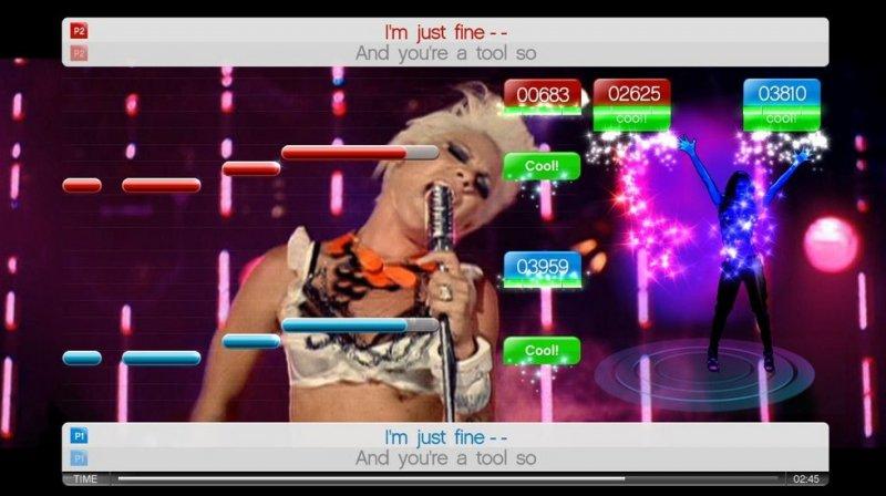 SingStar Dance (PS3)  © Sony 2010   8/14