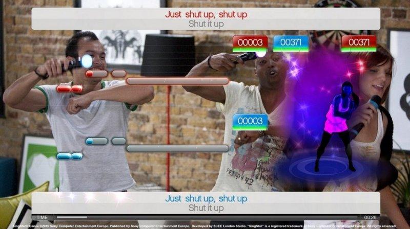 SingStar Dance (PS3)  © Sony 2010   9/14
