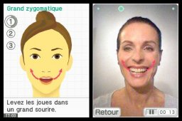 Face Training (NDS) &nbsp; &copy; Nintendo 2010 &nbsp;  3/5