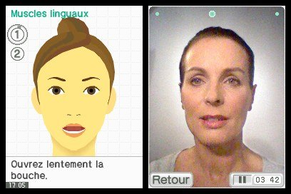 Face Training (NDS) &nbsp; &copy; Nintendo 2010 &nbsp;  4/5