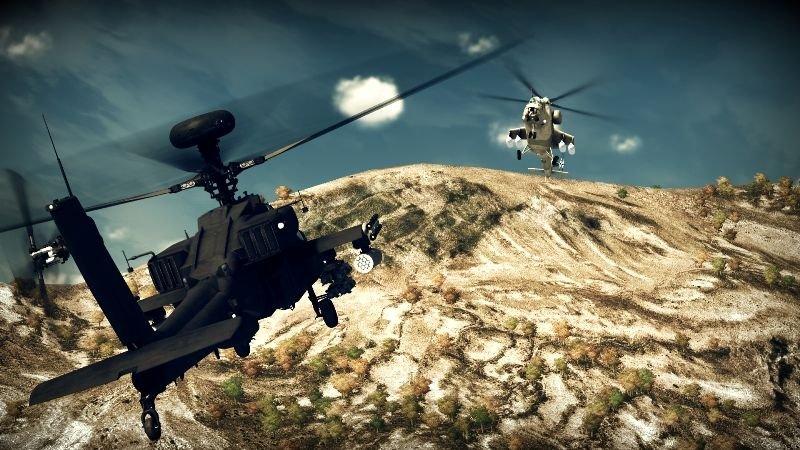 Apache: Air Assault (PS3)  © Activision 2010   4/5