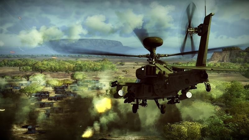 Apache: Air Assault (PS3)   © Activision 2010    5/5