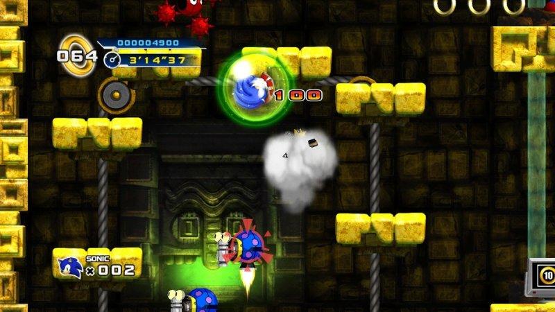 Sonic The Hedgehog 4: Episode I (X360)  © Sega 2010   4/15