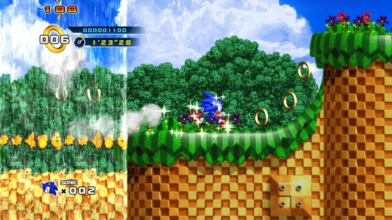Sonic The Hedgehog 4: Episode I (X360)  © Sega 2010   5/15