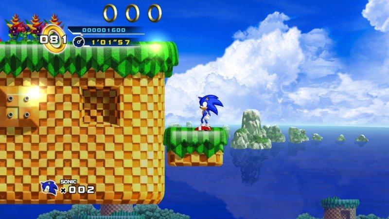 Sonic The Hedgehog 4: Episode I (X360)  © Sega 2010   7/15