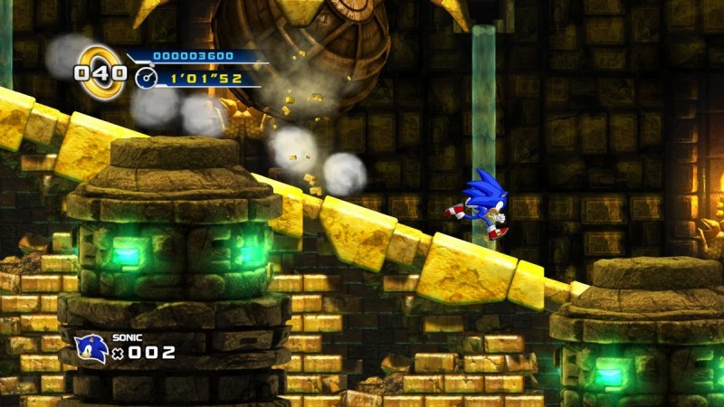 Sonic The Hedgehog 4: Episode I (X360)  © Sega 2010   9/15