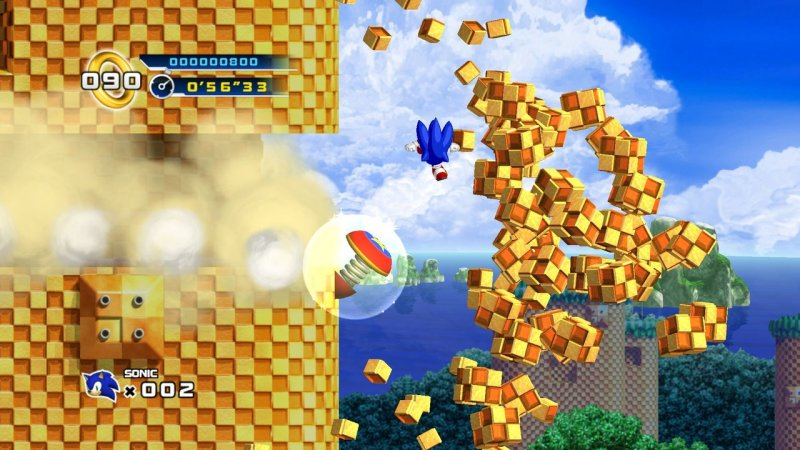 Sonic The Hedgehog 4: Episode I (X360)  © Sega 2010   12/15