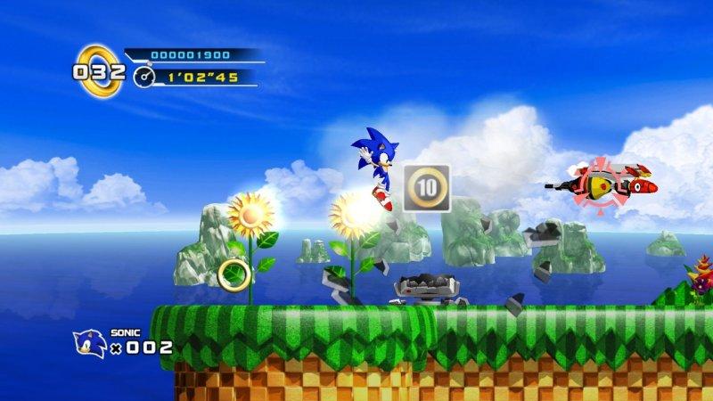 Sonic The Hedgehog 4: Episode I (X360)  © Sega 2010   15/15