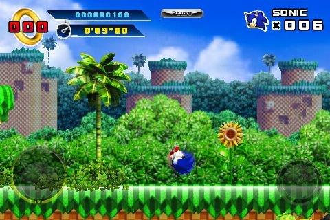 Sonic The Hedgehog 4: Episode I (IP)  © Sega 2010   4/17