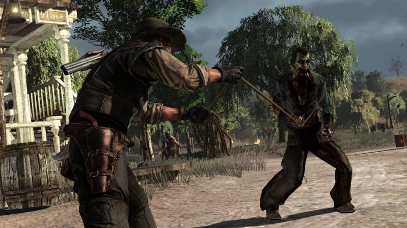 Red Dead Redemption: Undead Nightmare (PS3)  © Rockstar Games 2010   5/7