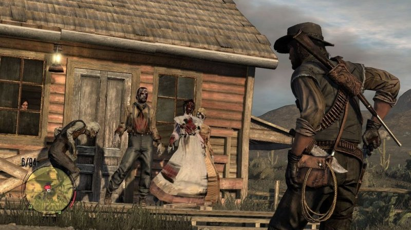 Red Dead Redemption: Undead Nightmare (PS3)   © Rockstar Games 2010    7/7