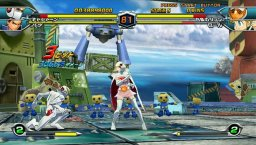 Tatsunoko Vs. Capcom: Cross Generation Of Heroes (WII)  © Capcom 2008   2/3