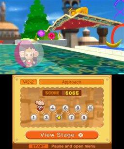 Super Monkey Ball 3D (3DS)  © Sega 2011   2/3