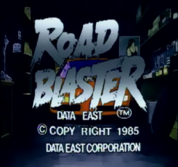 Road Blaster (ARC)   © Data East 1985    1/3