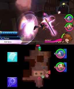Kingdom Hearts 3D: Dream Drop Distance (3DS)  © Square Enix 2012   2/3