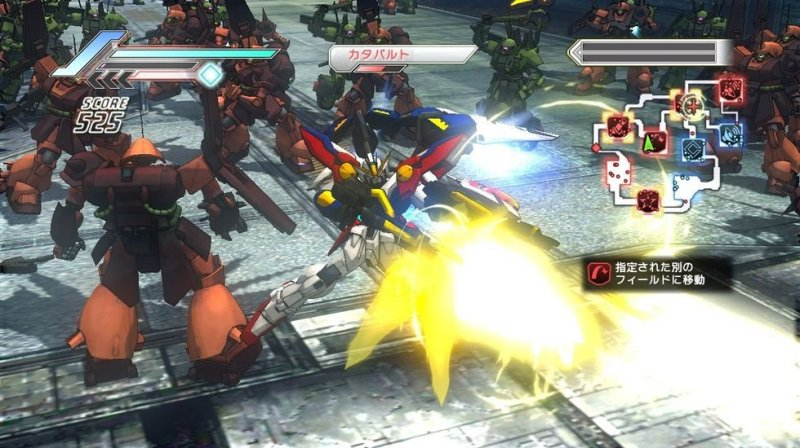 Dynasty Warriors: Gundam 3 (PS3)   © KOEI 2010    4/7