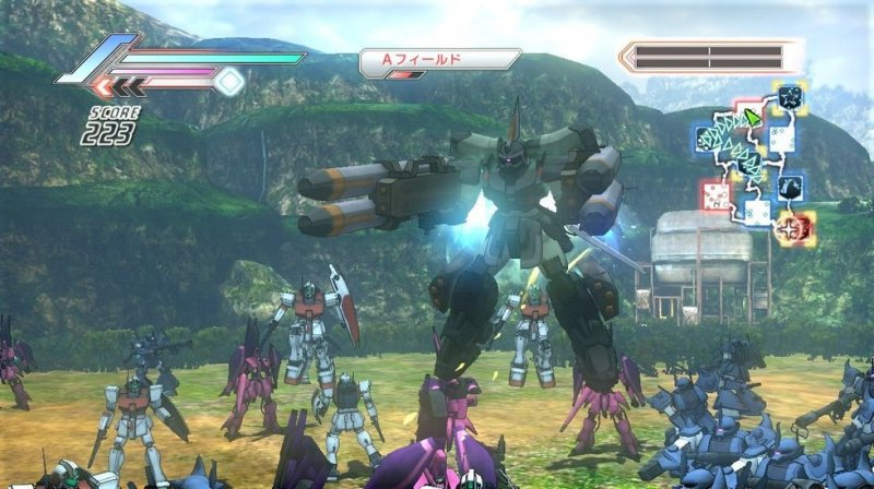 Dynasty Warriors: Gundam 3 (PS3)   © KOEI 2010    5/7