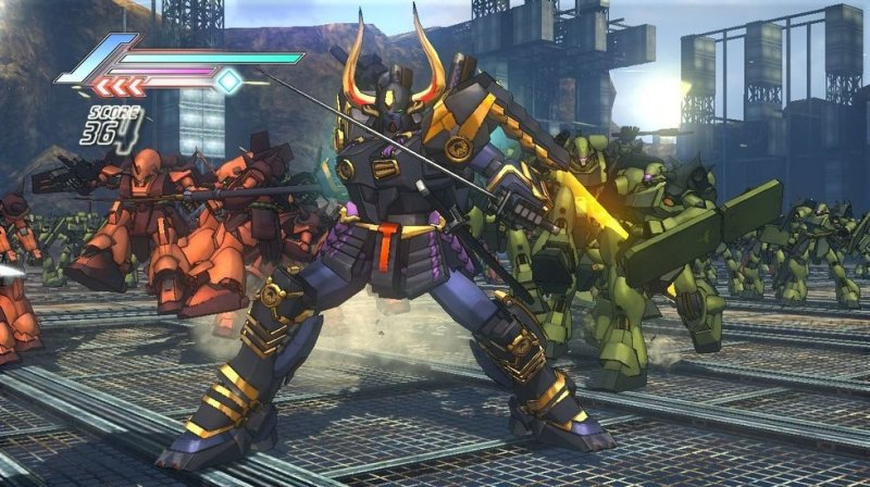 Dynasty Warriors: Gundam 3 (PS3)   © KOEI 2010    6/7