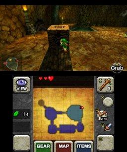 The Legend Of Zelda: Ocarina Of Time  © Nintendo 2011  (3DS)   2/6