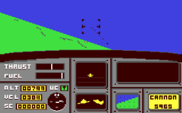 ACE: Air Combat Emulator (C64)   © Cascade 1985    2/2