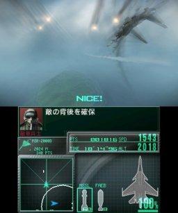 Ace Combat: Assault Horizon Legacy (3DS)  © Bandai Namco 2011   1/5