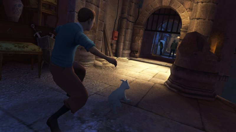 The Adventures Of Tintin: The Game (PS3)   © Ubisoft 2011    4/5