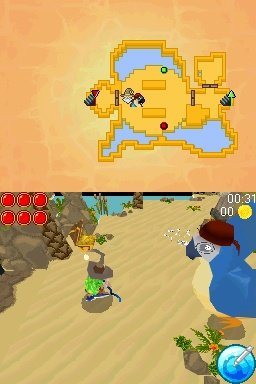 Dungeon Raiders (NDS)  © Focus 2010   4/5