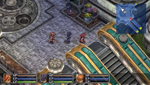 The Legend Of Heroes: Trails In The Sky (PSP)   © Falcom 2006    12/13