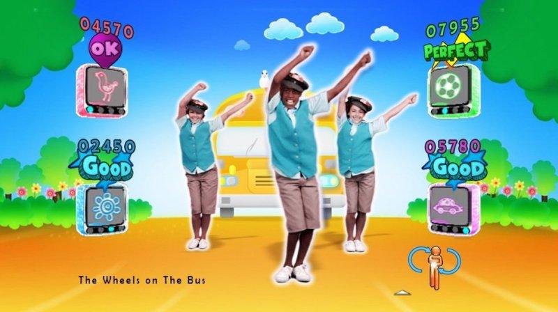 Just Dance Kids (WII)  © Ubisoft 2010   4/8