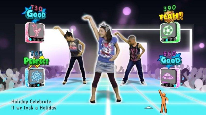 Just Dance Kids (WII)  © Ubisoft 2010   5/8